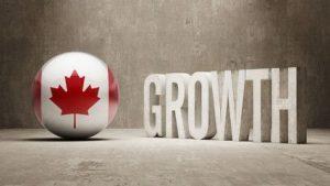 Canadian Flag Growth